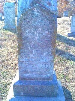 Nannie E. Allcock
