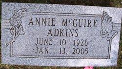Annie Mae <i>McGuire</i> Adkins