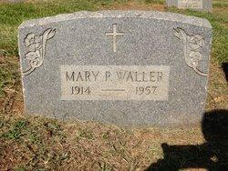 Mary P. <i>Wilson</i> Waller