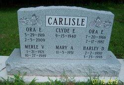 Ora Edward Carlisle