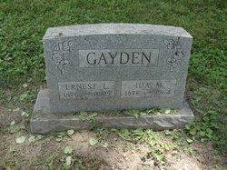 Ida <i>Patterson</i> Gayden