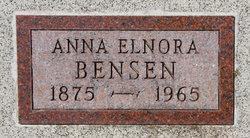 Anna Elnora Bensen