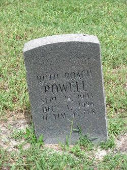 Ruth <i>Roach</i> Powell