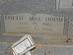 Lottie Mae <i>Odom</i> Bruce