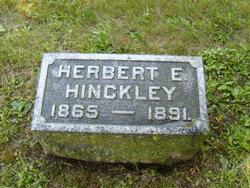 Herbert E Hinckley