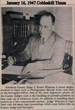 J Ernest Wharton