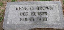 Irene <i>Odham</i> Brown