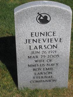 Eunice Jenevieve Larson