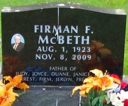 Firman Forrest McBeth