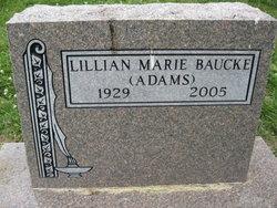 Lillian A <i>Dearing</i> Baucke