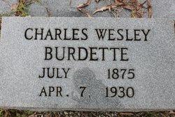 Charles Wesley Burdette