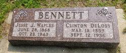 Jesse Jeanette <i>Waples</i> Bennett