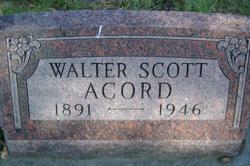 Walter Scott Acord