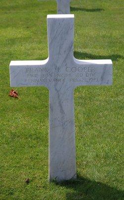 PVT Frank H. Cooper