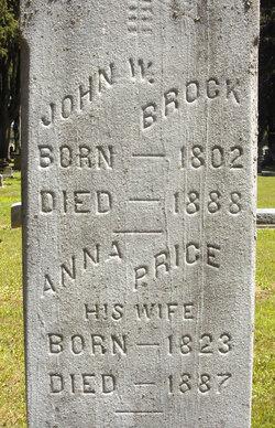 Anna <i>Price</i> Brock