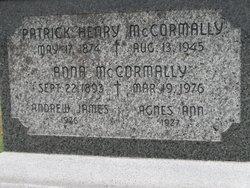 Anna Elizabeth <i>Nicholson</i> McCormally