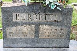 Annie Eudora <i>Wilson</i> Burdette