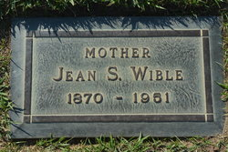 Jean Spackman <i>Cope</i> Wible