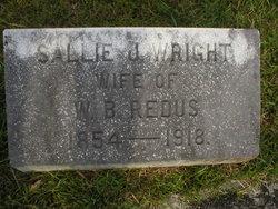 Sallie J <i>Wright</i> Redus