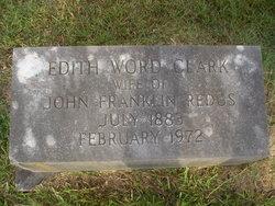 Edith Word <i>Clark</i> Redus