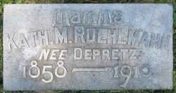 Katherine M <i>DePretz</i> Ruehlmann
