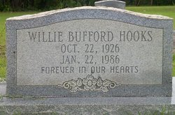Willie Bufford Hooks