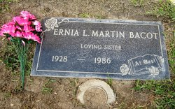Ernia Lee <i>Martin</i> Bacot