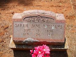 Sarah Jane <i>Parks</i> Williams