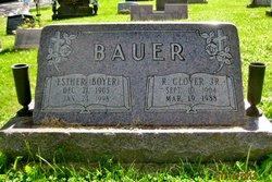 Dr Esther <i>Boyer</i> Bauer