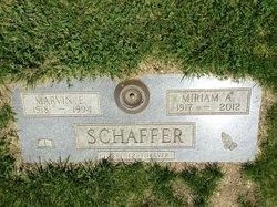 Miriam Alberta <i>Hocker</i> Schaffer