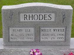 Nellie Myrtle <i>Grubaugh</i> Jennings