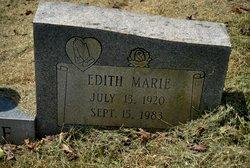 Edith Marie Cline