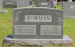 Effie Mae <i>Branch</i> Bowman