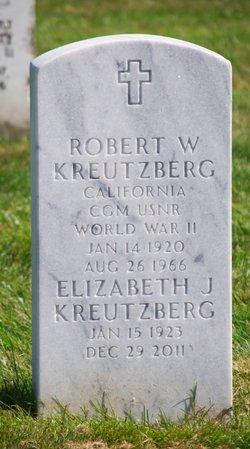 Elizabeth Jean Betty <i>McBain</i> Kreutzberg