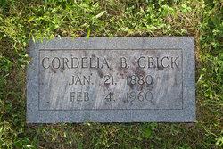 Cordelia Clementine Cordie <i>Bridges</i> Crick