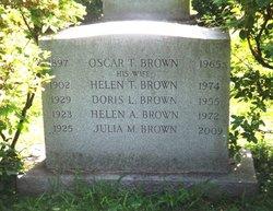 Helen A Brown