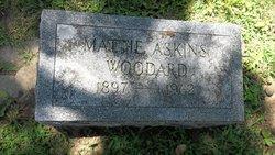 Mattie <i>Askins</i> Woodard