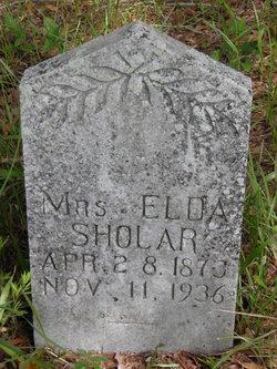 Elda <i>Shepard</i> Phillips Sholar