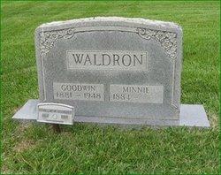 Minnie Florence <i>Mullins</i> Waldron