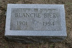Blanche Elizabeth <i>Stineman</i> Biek