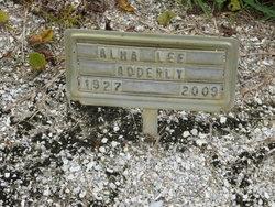 Alma Lee Adderly