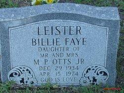 Billie Faye <i>Otts</i> Leister