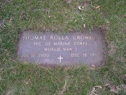Thomas Rolla Crowell, Sr