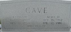 Alma H. Cave
