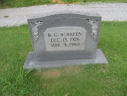 B. C. Burkeen
