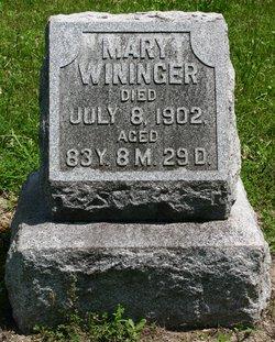 Mary Wininger