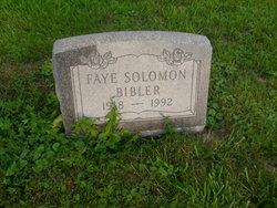 Faye Esther <i>Wilson</i> Bibler