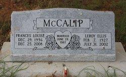 Frances Lou <i>Brewer</i> McCalip