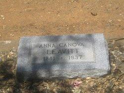Anna <i>Canova</i> Leavitt