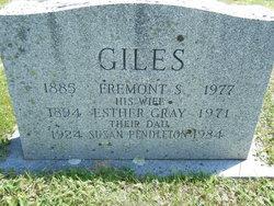 Esther M. <i>Gray</i> Giles